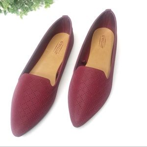 Seychelles | New Wine Red Purple Pointed Flats new